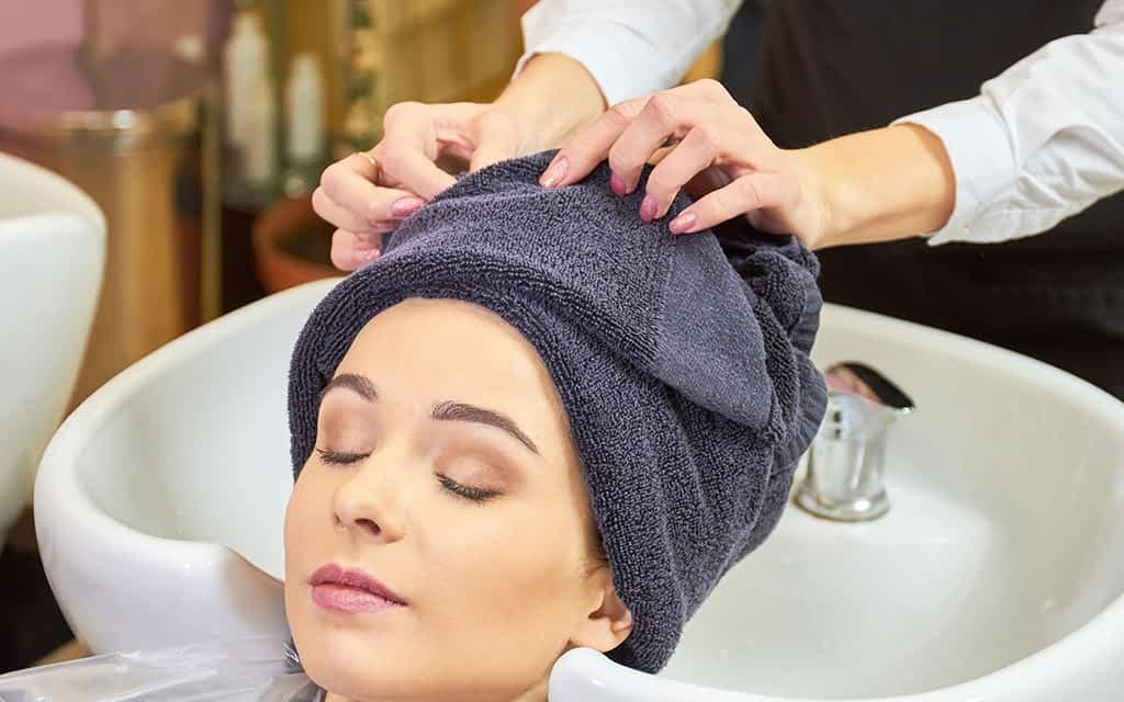 Hair Towels in Parlour