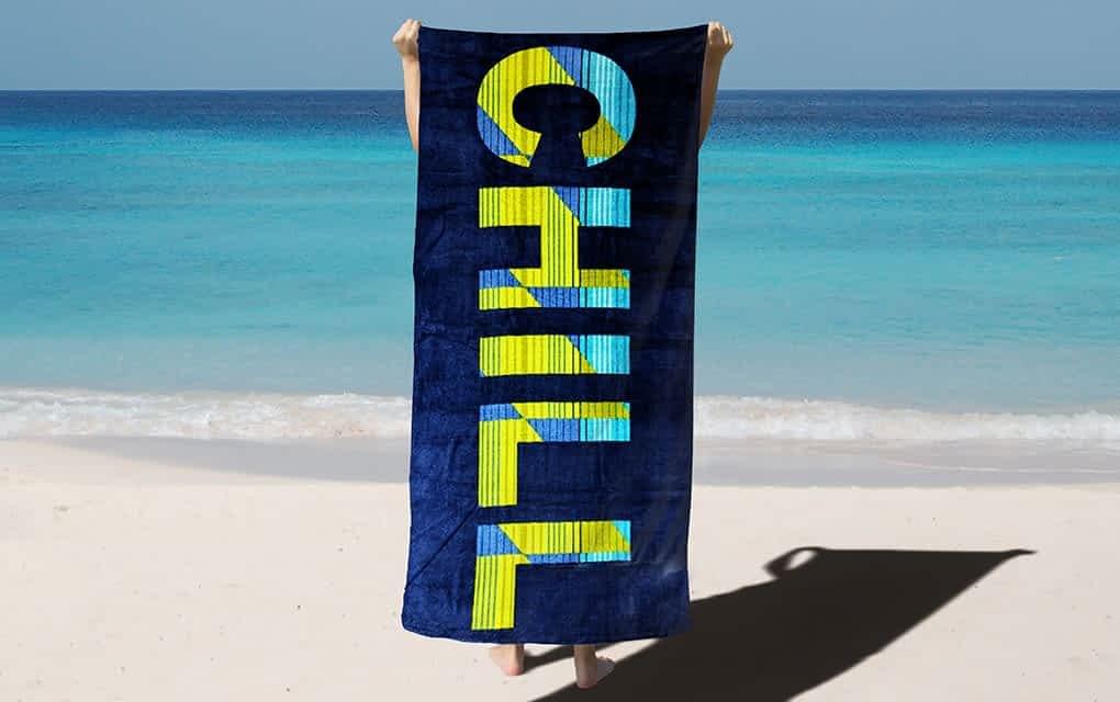 Printed Velour Beach Towels - Orahome